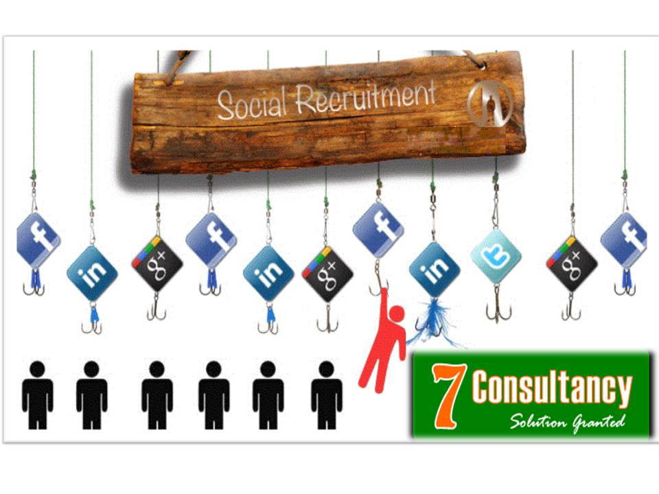 Recruitment process through social media.