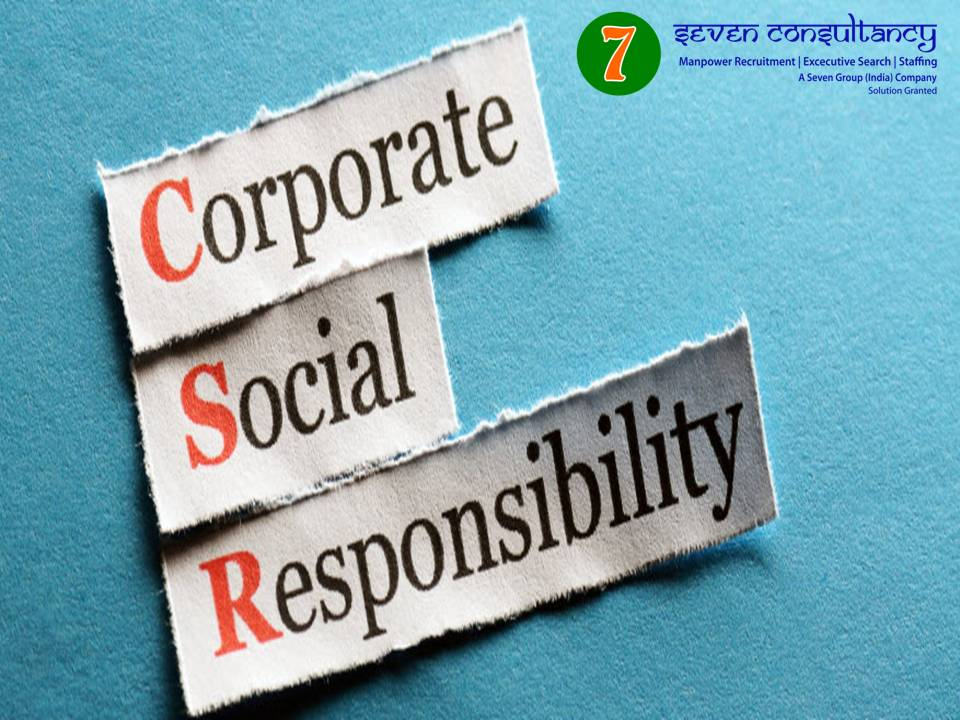 Social responsibility by HR Dept in an organization