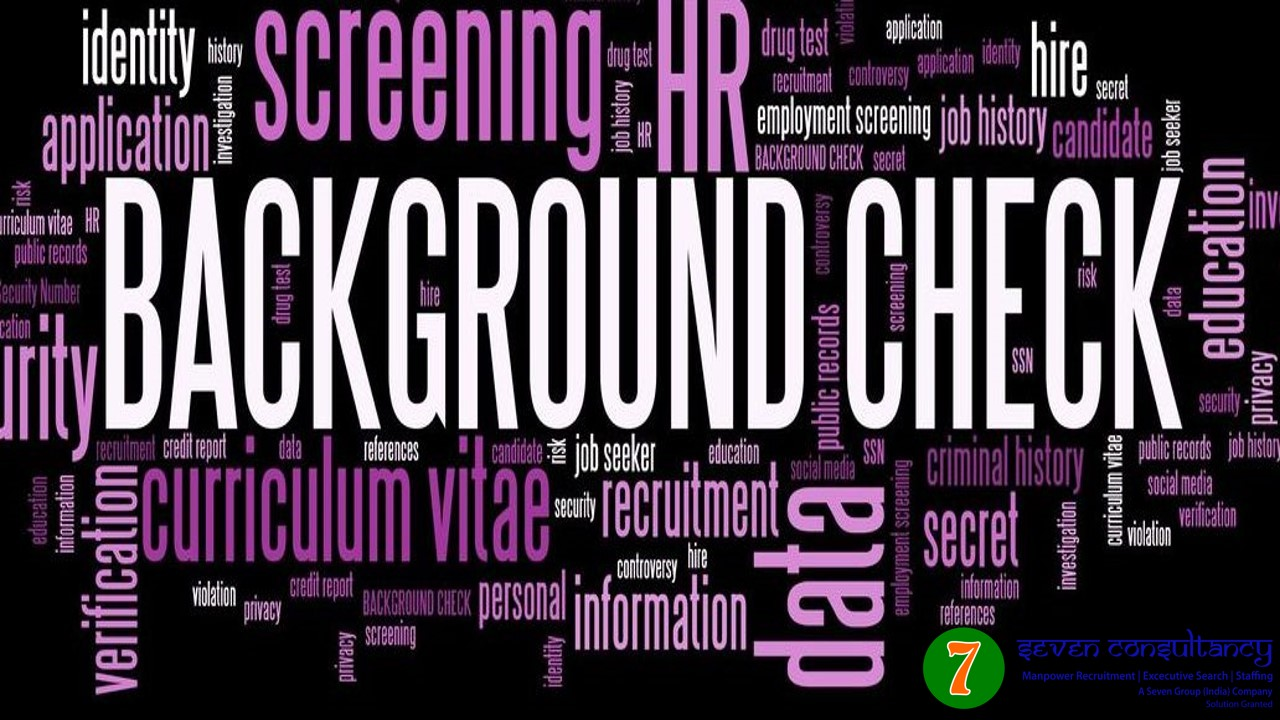 Importance of background verification for manpower recruitment